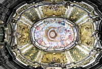 Ceiling fresco of Weltenburg Abbey, Bavaria, Germany