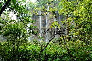 Wasserfall, Plitvicer Seen, Nationalpark, Kroatien,