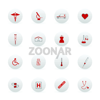 Medical Icons and Buttons