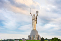 Monument of Mother Motherland. Ukraine