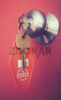Retro Motel Key