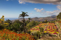 Botanical garden of Funchal
