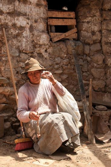 Farmer in South America