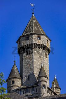 Schloss Braunfels, Braunfels, Hessen, Deutschland