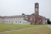 Convent of the announced , located at abbiategrasso a country closest to milan, convento dell'annunciata