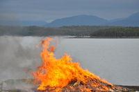 Fire at midsummer