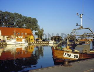 Hafen von Freest, Ostsee