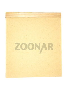 Block aus handgeschöpftem Papier