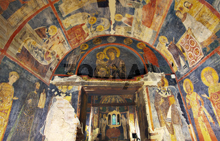 Interior Paintings Boyana Church