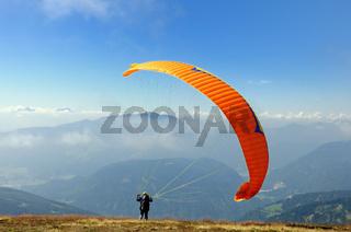 Paraglider/Gleitschirmflieger
