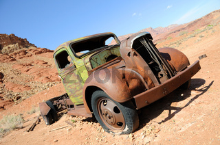 Vintage Truck at Lonely Dell Ranch in Arizona