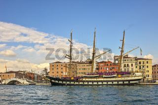 The Iron Hulled Barquetine Palinuro Venice Italy
