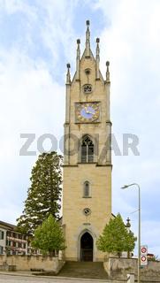 Reformierte Kirche Andelfingen, Kanton Zürich, Schweiz