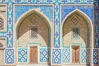 Arches with mosaics, Bukhara