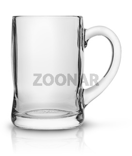 Glass mug for beer