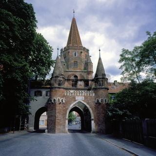 Kreuztor, Ingolstadt, Bayern, Deutschland