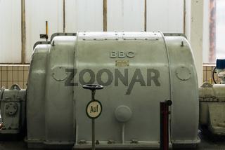 Generator in einem Kohlekraftwerk