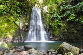 Salto do Prego Wasserfall - Azoren