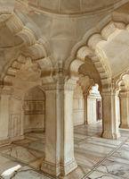 Interior of Nagina Masjid (Gem Mosque) in Agra Fort, Uttar Pradesh, India