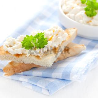 frischer Toast