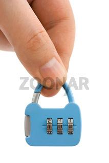 Hand and lock like a handbag