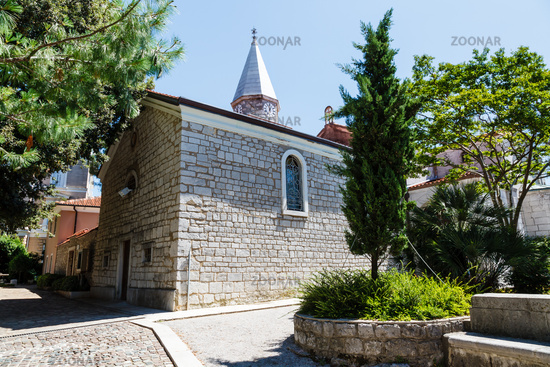 Small Church in the Resort of Opatija, Kvarner, Croatia