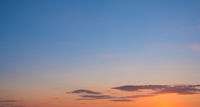 sunset sky panorama - scenic sunset sky