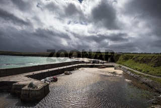 Der Hafen Port of Ness auf der Isle of Lewis