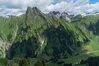 West face Mt. Höfats
