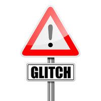Road Sign Glitch