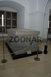 Sarg vom Friedrich Wilhelm dem Großen, Hohenollengruft im Berliner Dom