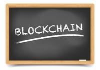 Blackboard Concept Blockchain