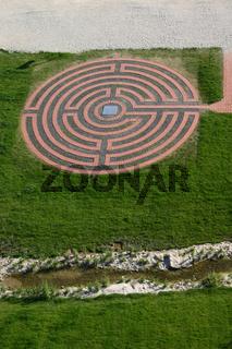Ein Labyrinth