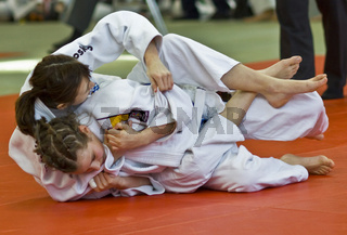 Schulsport - Judo Maedchen