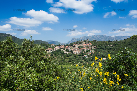Village in Southern france