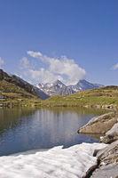 Bergsee auf dem Pfitscher Joch