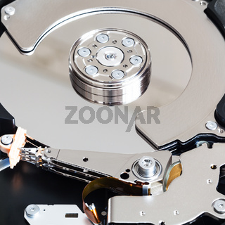 open internal 3.5-inch sata hard disk drive