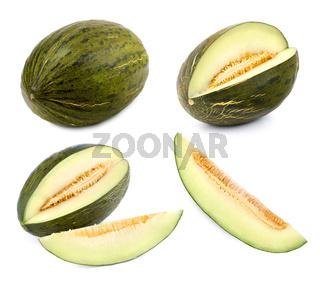 Futuro-Melone in 4 verschiedenen Formen