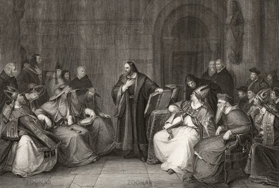 Jan Hus at Council of Constance