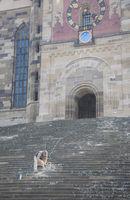 restoration around Church of Saint Michael in Schwaebisch Hall