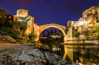 Old Bridge in Mostar - Bosnia and Herzegovina