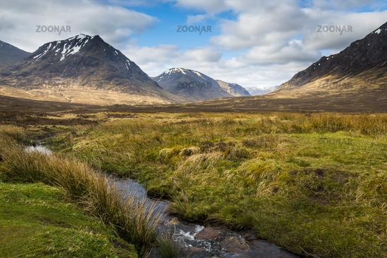 Scottish Highlands with Creek