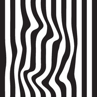 Striped seamless abstract background. black and white zebra print. illustration