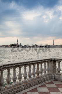 Venice from the waterfront