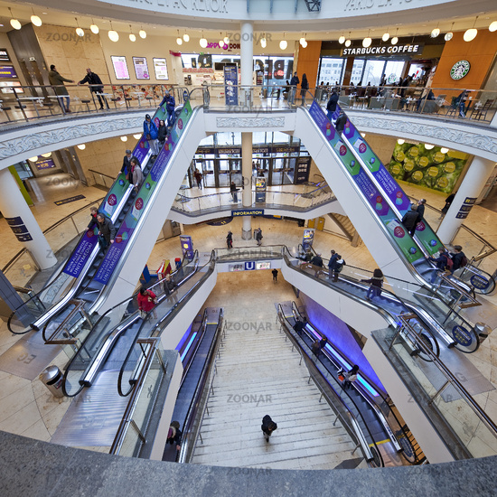 shopping center Limbecker Platz, Essen, Ruhr Area, North Rhine-Westphalia, Germany, Europe