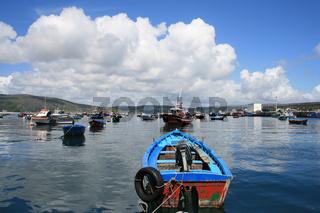 Hafen von Finisterra