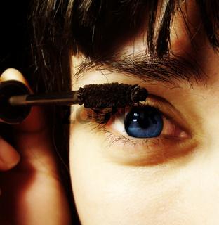Make-up close-up