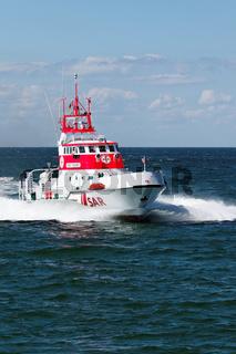 Zingst - Tag der Seenotrettung. Rettungsübung der SAR.