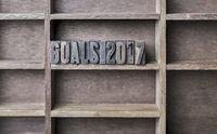 Wooden Letter Goals 2017