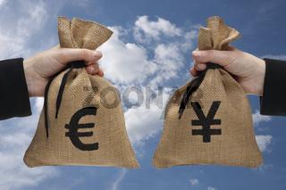 Geldumtausch   currency exchange